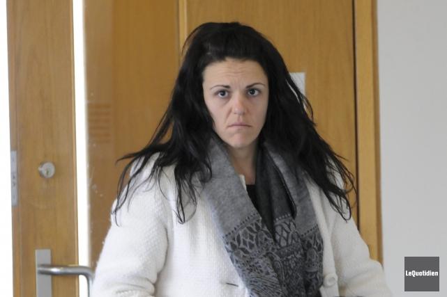 Anne Vaillancourt passera les 12 prochains mois derrière... (Archives Le Quotidien, Michel Tremblay)