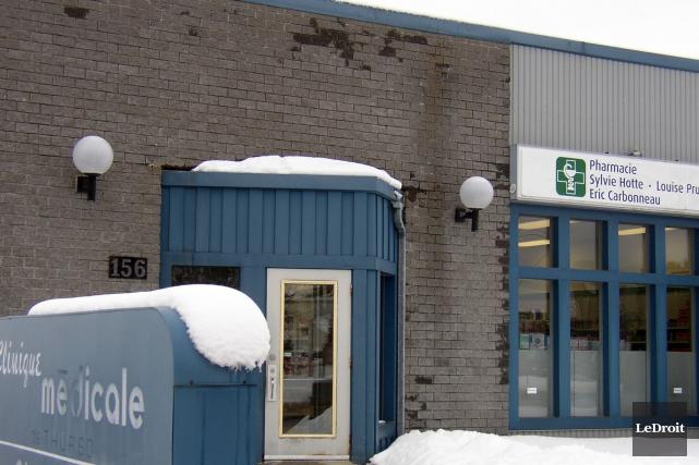 La clinique où quatre médecins et deux infirmières... (Archives LeDroit)