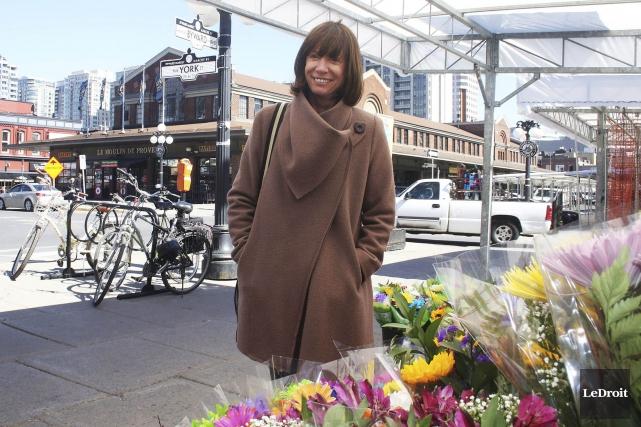 Janette Sadik-Khanétait de passage dans la capitale mercredi.... (Etienne Ranger, LeDroit)