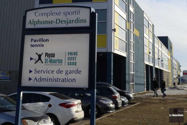Le Complexe sportif Alphonse-Desjardins.... (Sylvain Mayer, Le Nouvelliste)