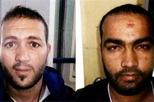 Adel Haddadi (à gauche) etMohamad Usman.... (PHOTO archives LE MONDE/WASHINGTON POST)