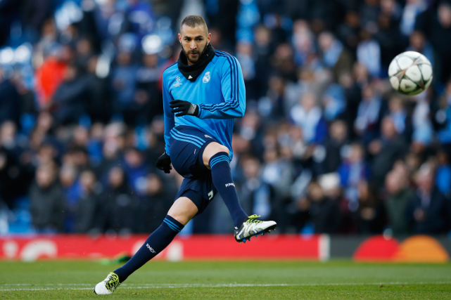 Karim Benzema... (Photo Phil Noble, Reuters)
