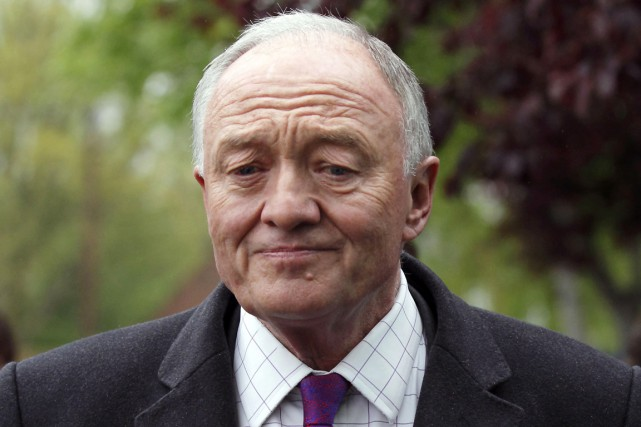 Ken Livingstone... (PHOTO JUSTIN TALLIS, ARCHIVES AFP)