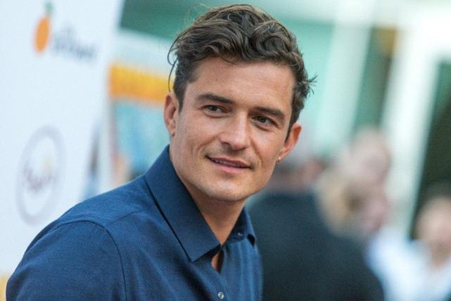 L'acteur britannique Orlando Bloom, figure emblématique de... (PHOTO ARCHIVES AP)