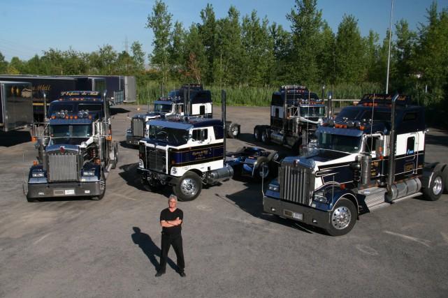 Le propriétaire des Transports Delson et Entrepôts P.C.G.,... (Photo fournie par Transports Delson)