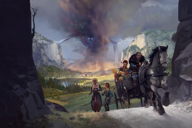 Avec le jeu Fated : The Silent Oath,...