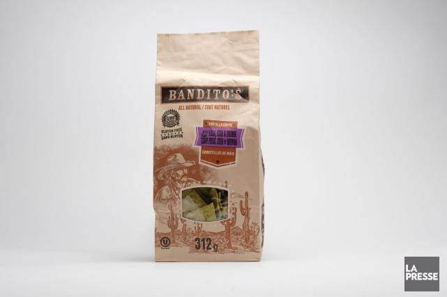 Les croustilles de maïs de Bandito's.... (PHOTO MARTIN CHAMBERLAND, LA PRESSE)