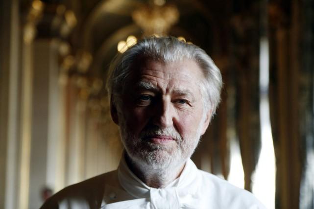 Le chef Pierre Gagnaire... (PHOTO AFP)