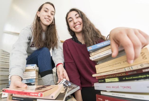 Virginie Paul et Marie Talaïa partagent depuis leur... (Spectre Média, Frédéric Côté)