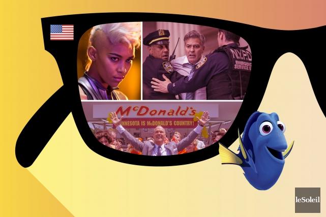 La semaine passée, au cinéma, toutes les bandes-annonces diffusées en vue de... (Infographie Le Soleil)