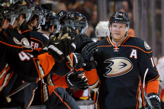 L'attaquand des Ducks d'Anaheim, Corey Perry.... (PHOTO JAYNE KAMIN-ONCEA, USA TODAY SPORTS)