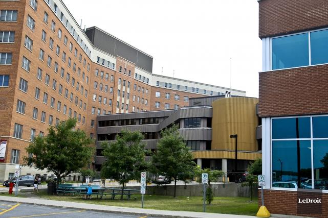 L'hôpital de Hull... (Patrick Woodbury, Archives LeDroit)
