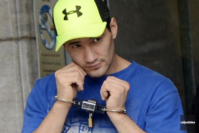 Jonathan Cheezo est en probation depuis ses 14... (Archives Le Quotidien, Jeannot Lévesque)