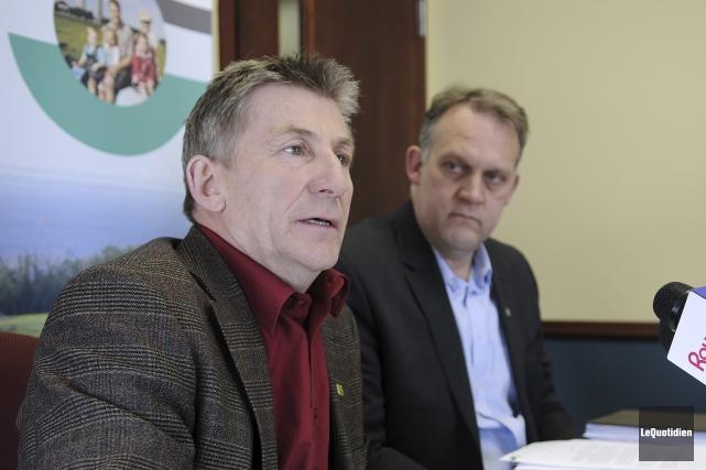 Le président de l'UPA du Saguenay-Lac-Saint-Jean, Yvon Simard,... (Le Quotidien, Mariane L. St-Gelais)