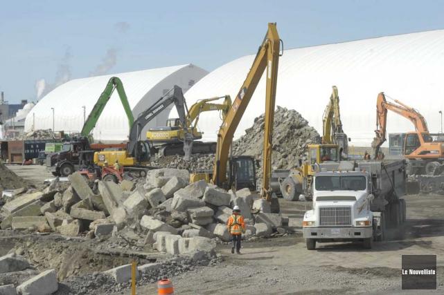 Le Port de Trois-Rivières est en train de... (Sylvain Mayer, Le Nouvelliste)