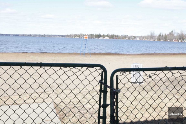 La plage Idéale de Lac-à-la-Tortue sera accessible cet... (Marie Noël, Le Nouvelliste)