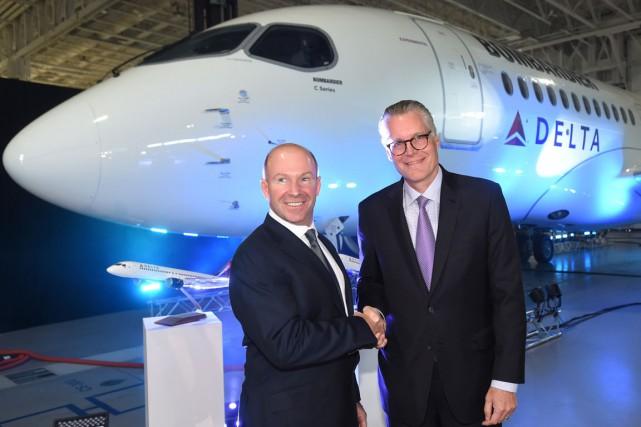 «L'arrivée de Delta Air Lines dans la famille... (La Presse Canadienne)