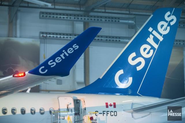 ÉDITORIAL / La commande ferme de 75 avions CS-100 de Bombardier par le... (Archives, La Presse)