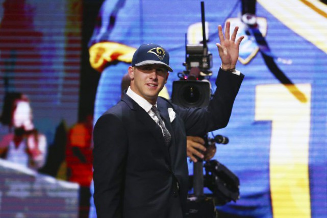 Jared Goff... (Photo Jerry Lai, USA Today Sports)