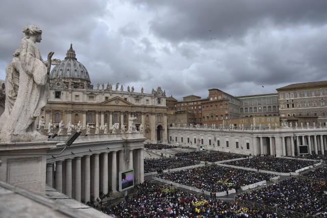 Dans le passé, la banque du Vatican a... (AFP, Gabriel Bouys)