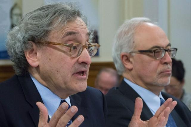 Le président de la Caisse de dépôt et... (PHOTO Jacques Boissinot, La Presse Canadienne)