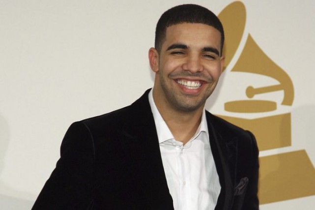 Le rappeur canadien Drake a sorti vendredi son nouvel album en exclusivité sur... (PHOTO ARCHIVES AFP)