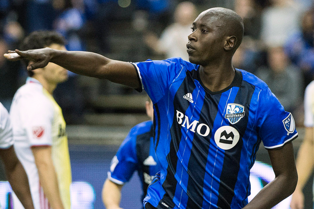 Le défenseur de l'Impact Hassoun Camara souffre d'une... (Photo Graham Hughes, archives PC)