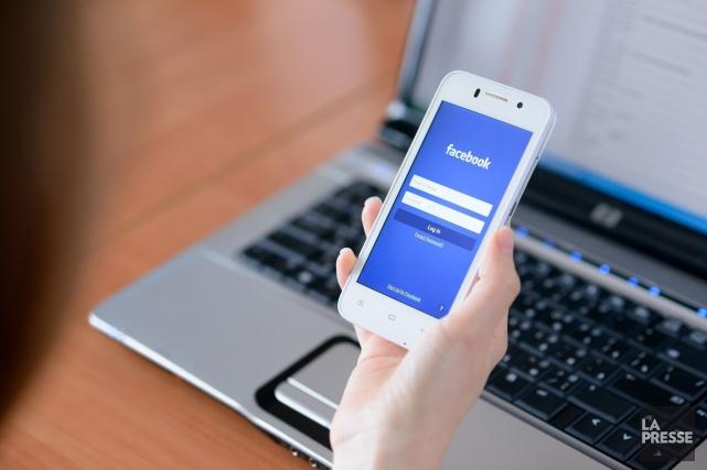 Un homme disant avoir besoin d'une gardienne d'enfants sur Facebook a été... (Archives La Presse)