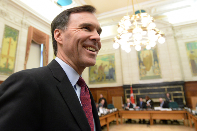 Le ministre des Finances du Canada, Bill Morneau.... (Photo Sean Kilpatrick, archives PC)