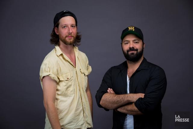 Emmanuel Schwartz (à gauche)et Mani Soleymanlou.... (PHOTO ANDRÉ PICHETTE, ARCHIVES LA PRESSE)