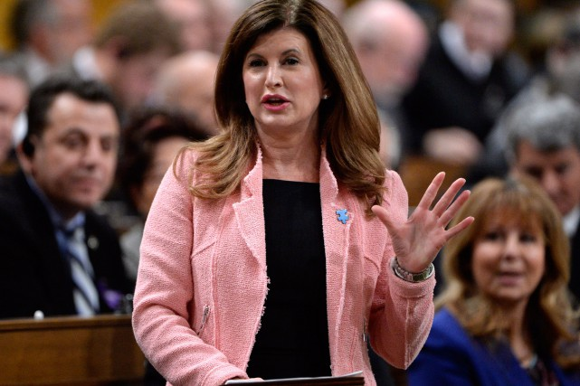 Rona Ambrose.... (Photo Adrian Wyld, archives La Presse Canadienne)