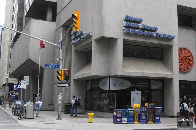 L'actuelle bibliothèque centrale d'Ottawa... (Etienne Ranger, Archives LeDroit)