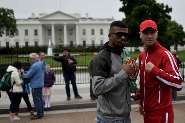 Lucian Bute et Badou Jack ont facilement respecté... (Agence France-Presse)