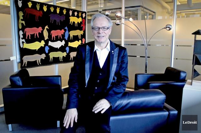 Simon Brault, directeur du Conseil des arts du... (Patrick Woodbury, LeDroit)