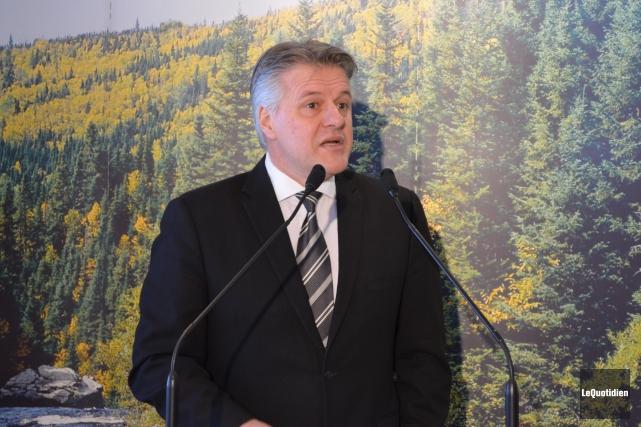 L'auteur est Laurent Lessard, ministre des Forêts, de... (Archives Le Quotidien)