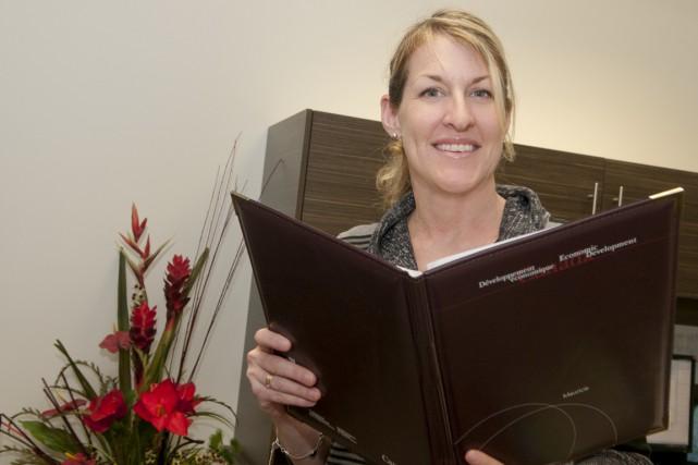Julie Lemieux vient d'être nommée administratrice au conseil... (Krystine Buisson)