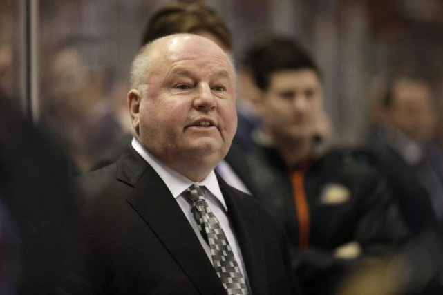 Bruce Boudreau a été incapable de confirmer les succès... (Archives La Presse Canadienne)