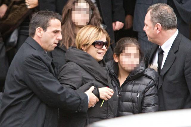 L'épouse de Salvatore Montagna a témoigné par vidéoconférence... (PHOTO PATRICK SANFAÇON, LA PRESSE)