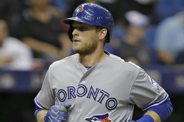 Michael Saunders... (Chris O'Meara, AP)