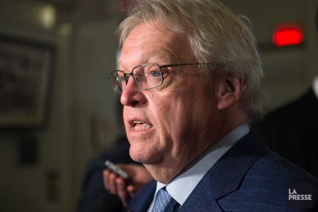 Gaétan Barrette digère mal que le Parti québécois... (Archives La Presse Canadienne, Jacques Boissinot)