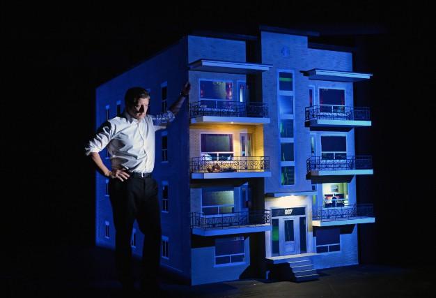 Le décor de 887 ressemble à une maison... (Photo Érick Labbé, fournie par le TNM)