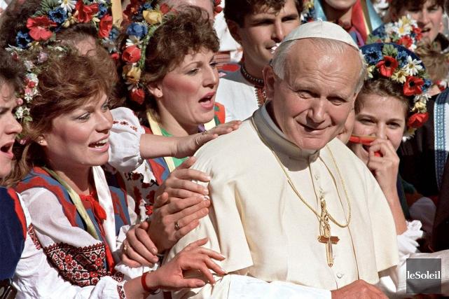Un spectacle musical autour de Jean-Paul II est... (Photothèque Le Soleil)