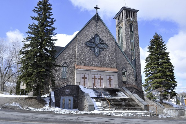 Église de Saint-Joachim... (Photo Le Progrès-dimanche, Rocket Lavoie)