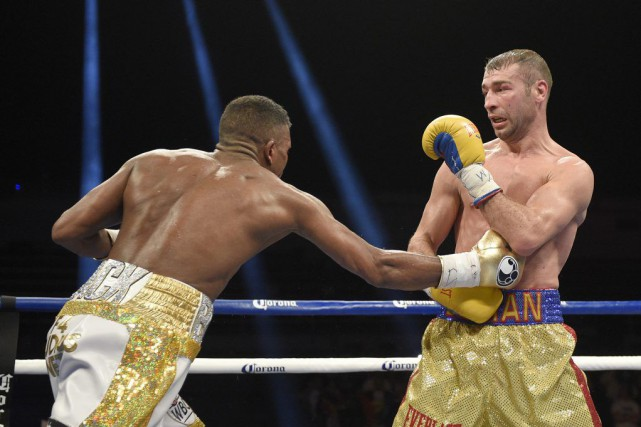 Badou Jack et Lucian Bute... (PHOTO NICK WASS, AP)