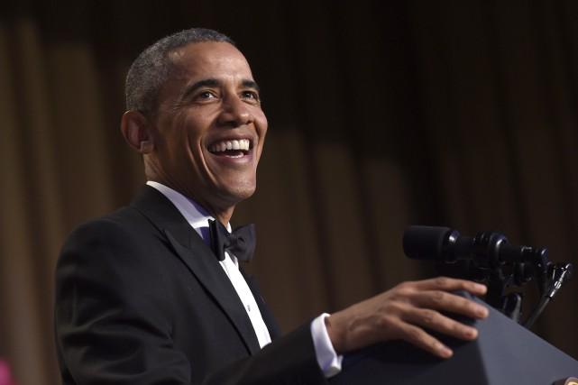 En plat de résistance, le président Obama s'est... (La Presse Canadienne, Susan Walsh)