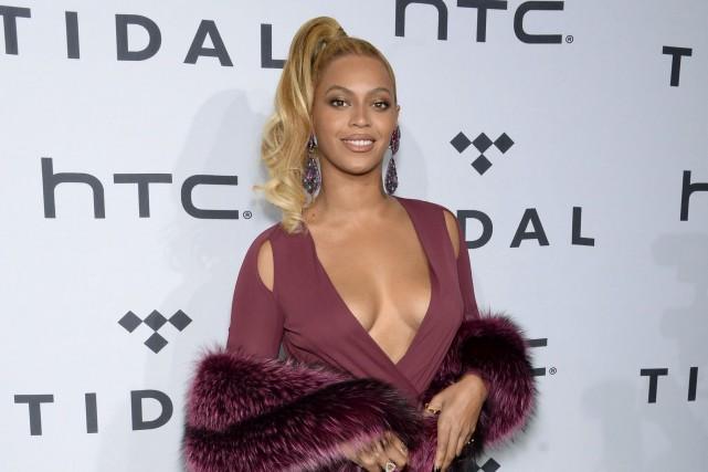 Beyoncé... (AP, Evan Agostini)