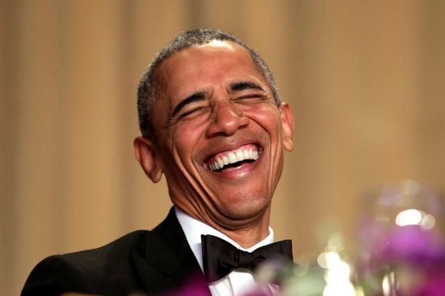 Le dîner des correspondants de la Maison-Blanche comprend... (Photo Reuters)