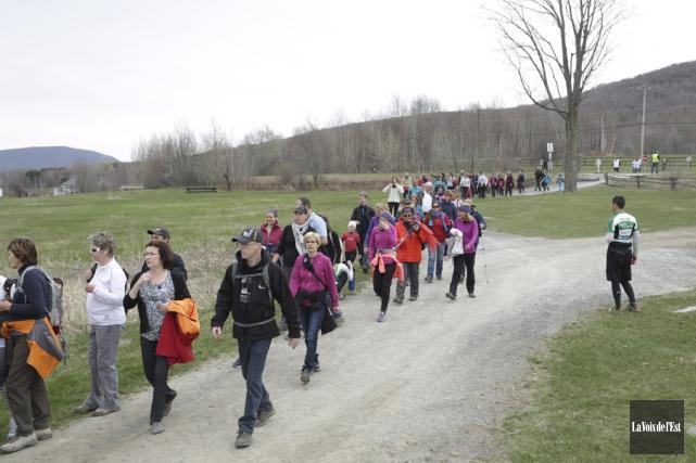 650 personnes ont participé à la 7e édition... (Catherine Trudeau, La Voix de l'Est)