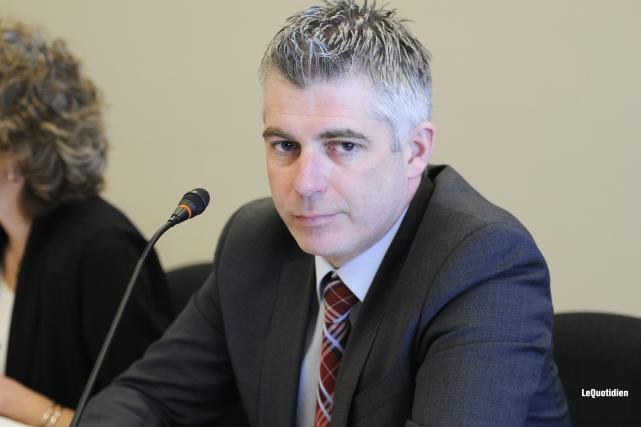 Le conseiller Luc Boivin aimerait que Saguenay obtienne... (Archives, Le Quotidien)