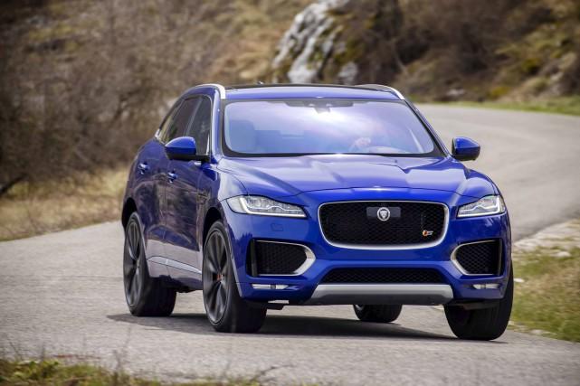 Le F-Pace de Jaguar... (fournie par JLR)